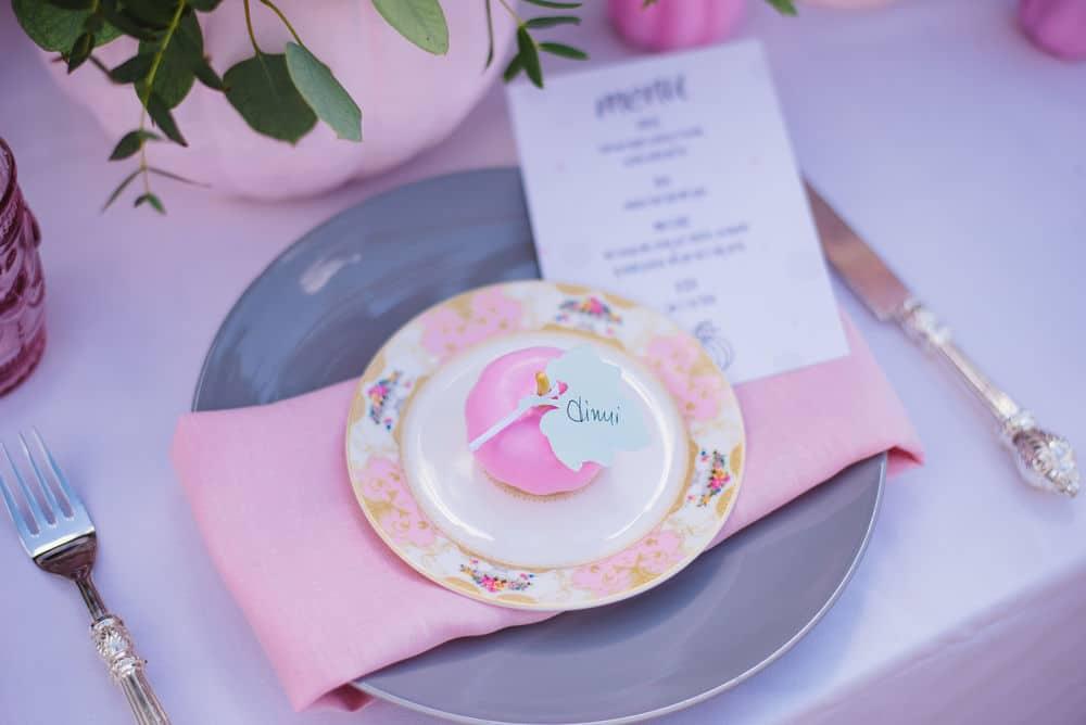 romantic wedding table decoration