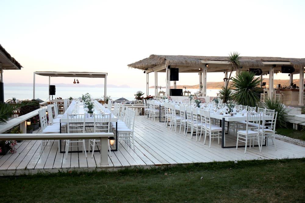 Island wedding planning and decoration by Phaedra liakou