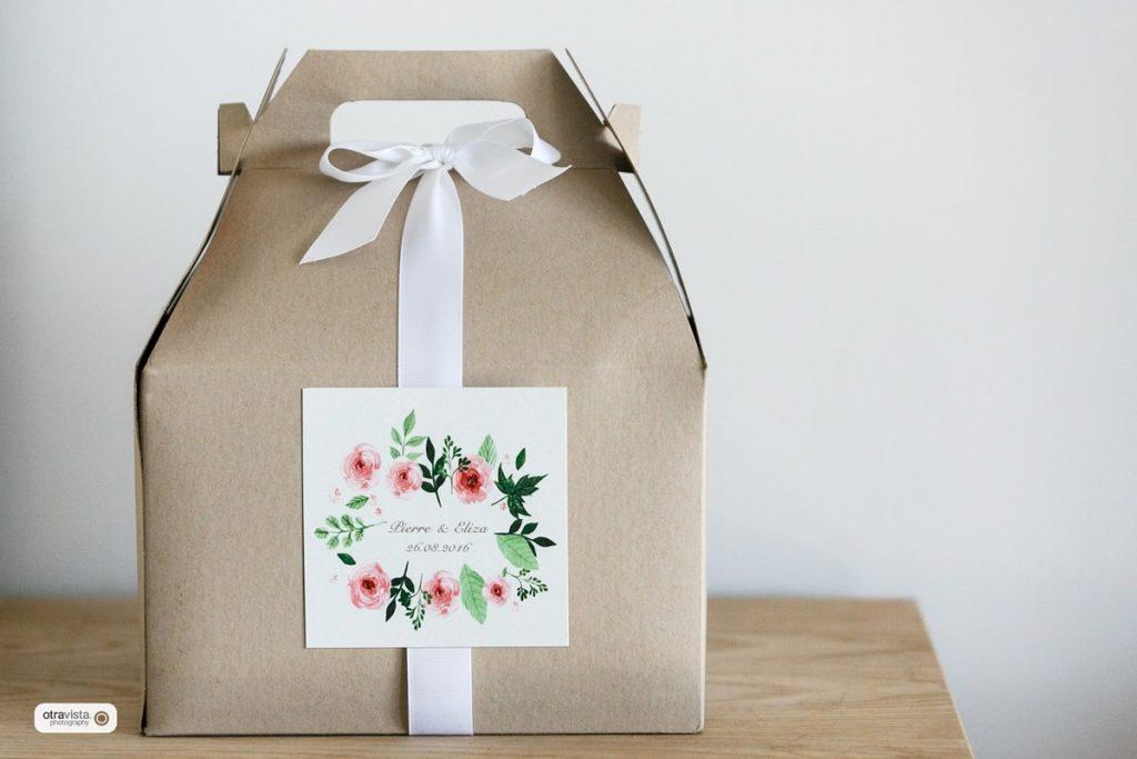 κουτί δώρο καλεσμένων γάμου