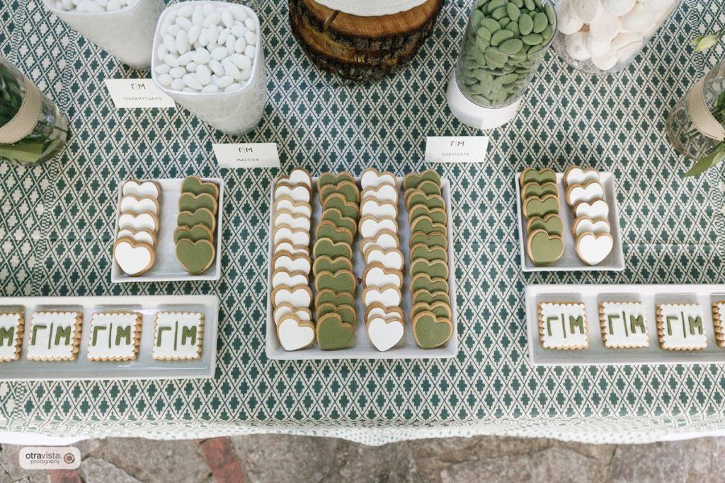 στολισμός τραπέζι γλυκών by soo events