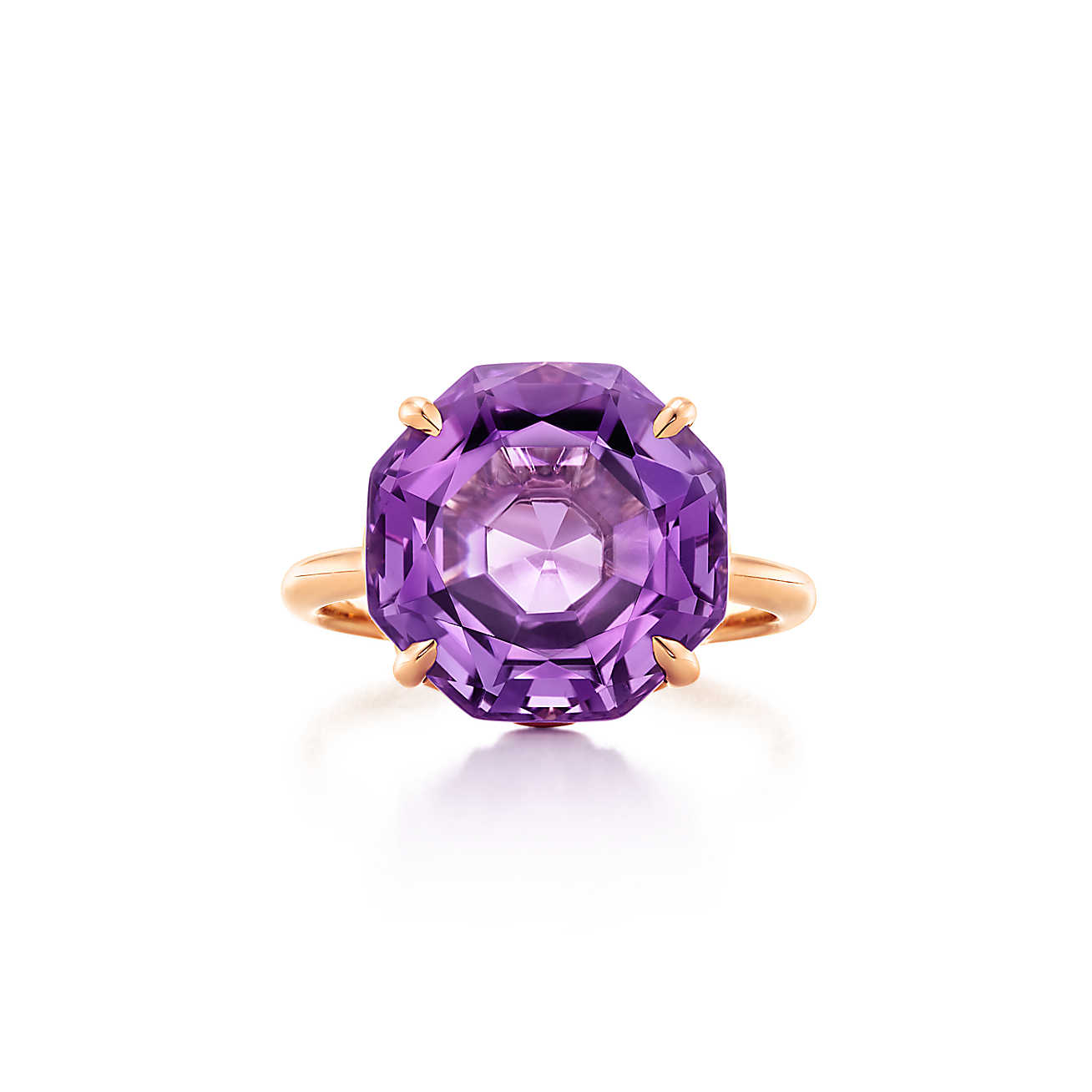 Purple engagement Ring by Tiffany & Co.