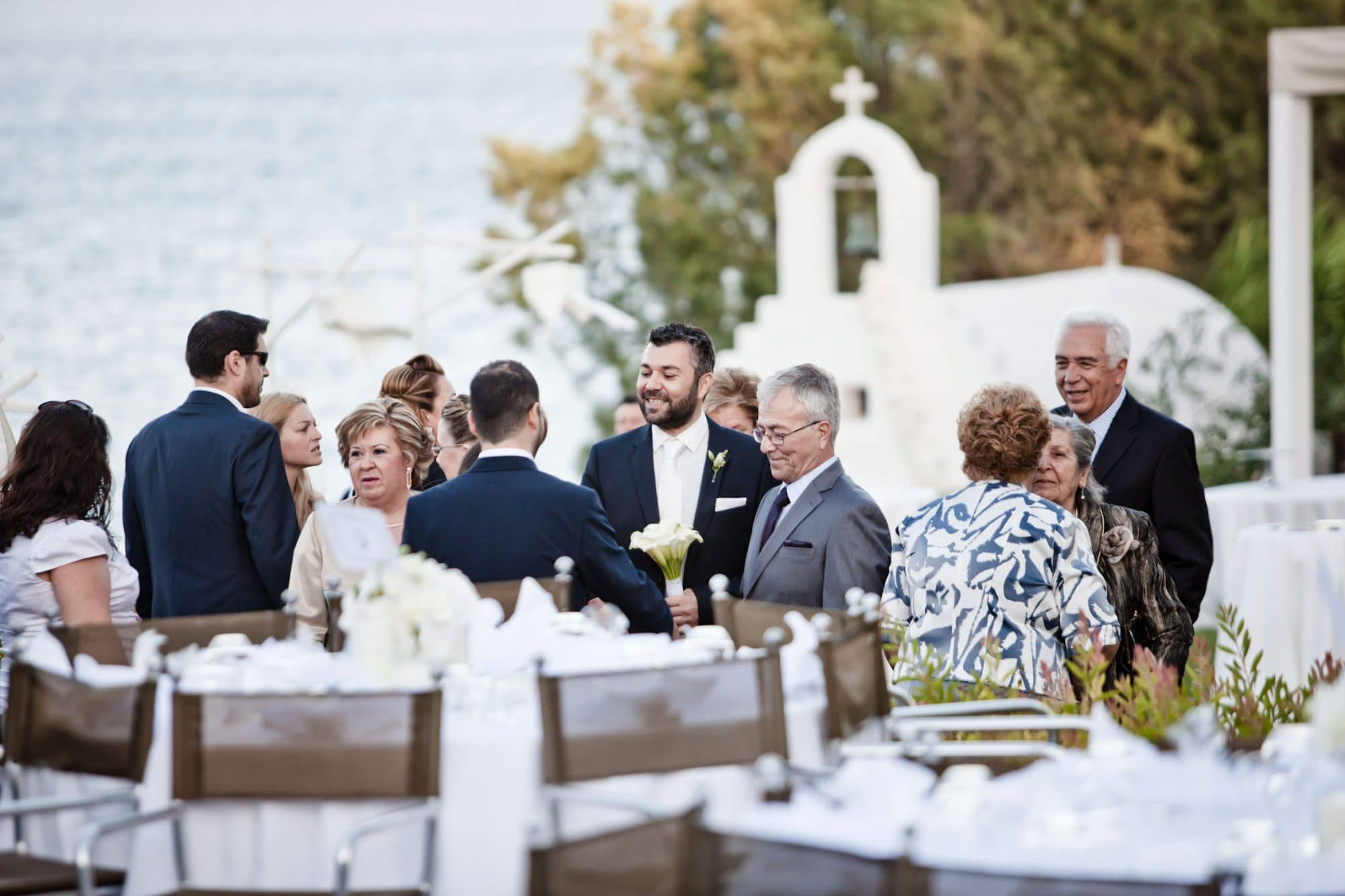 Shabby chic wedding in Athens
