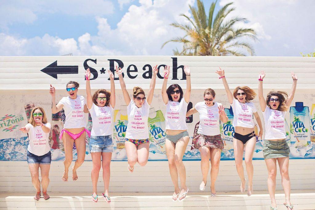 Καλοκαιρινό Bachelorette στην παραλία