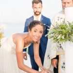 Beach party wedding in Paros