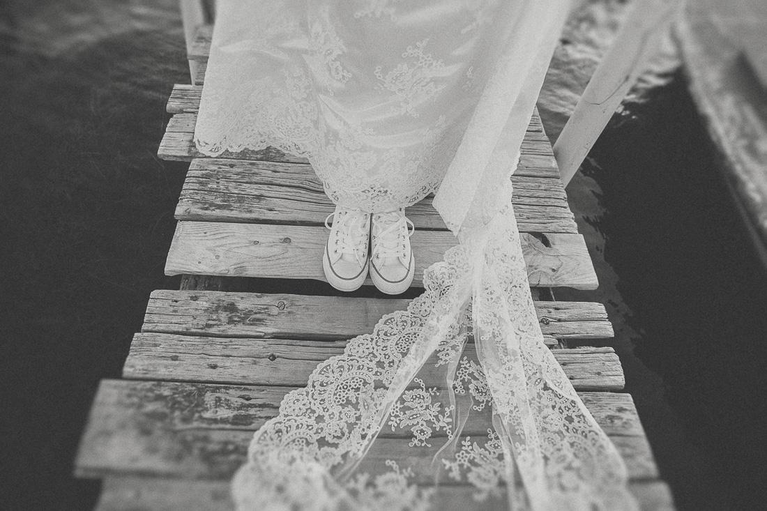 παπούτσια all star νύφης
