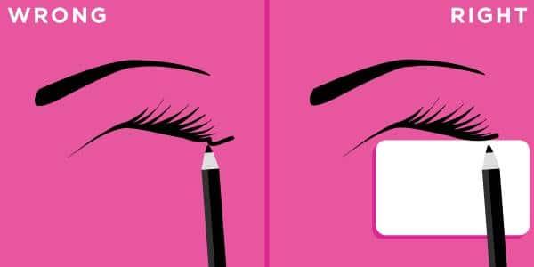 eyelines makeup tips