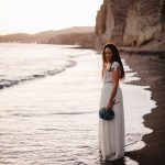 Summer blue wedding in Santorini