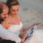 Red rustic wedding in Alexandroupoli