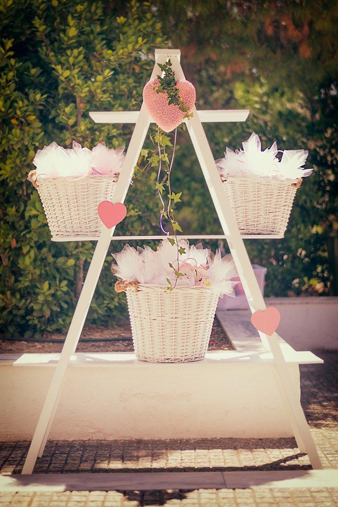 Wedding wish table decoration