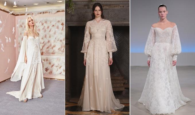 8 trends για τα νυφικά από την Fall Bridal Week 2017