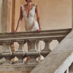 Stunning wedding dress by Mairi Mparola