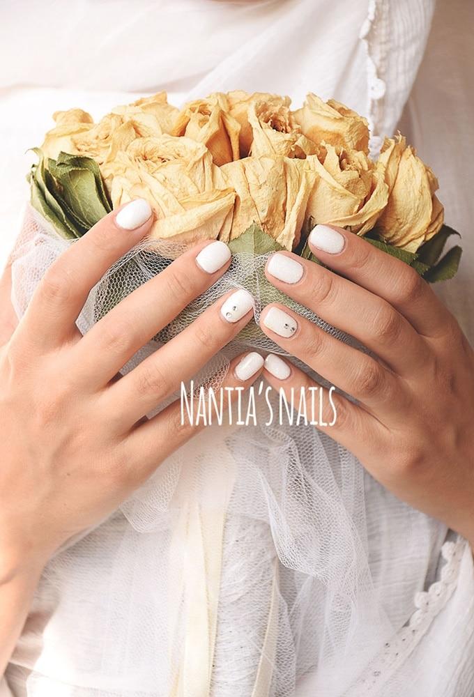 Νυφικό manicure