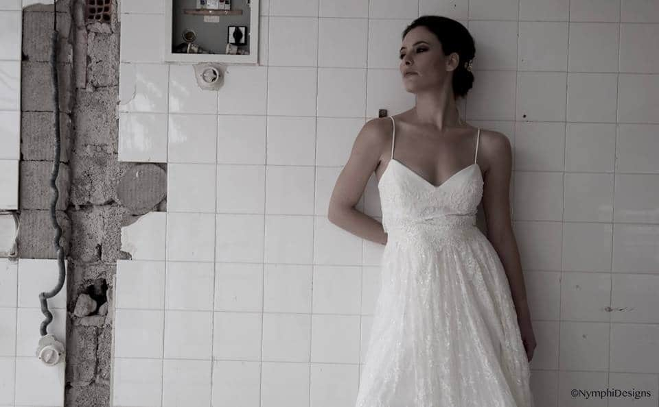 wedding dress with tulle