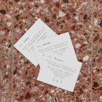 Personalized wedding guest thank you cards La Fete