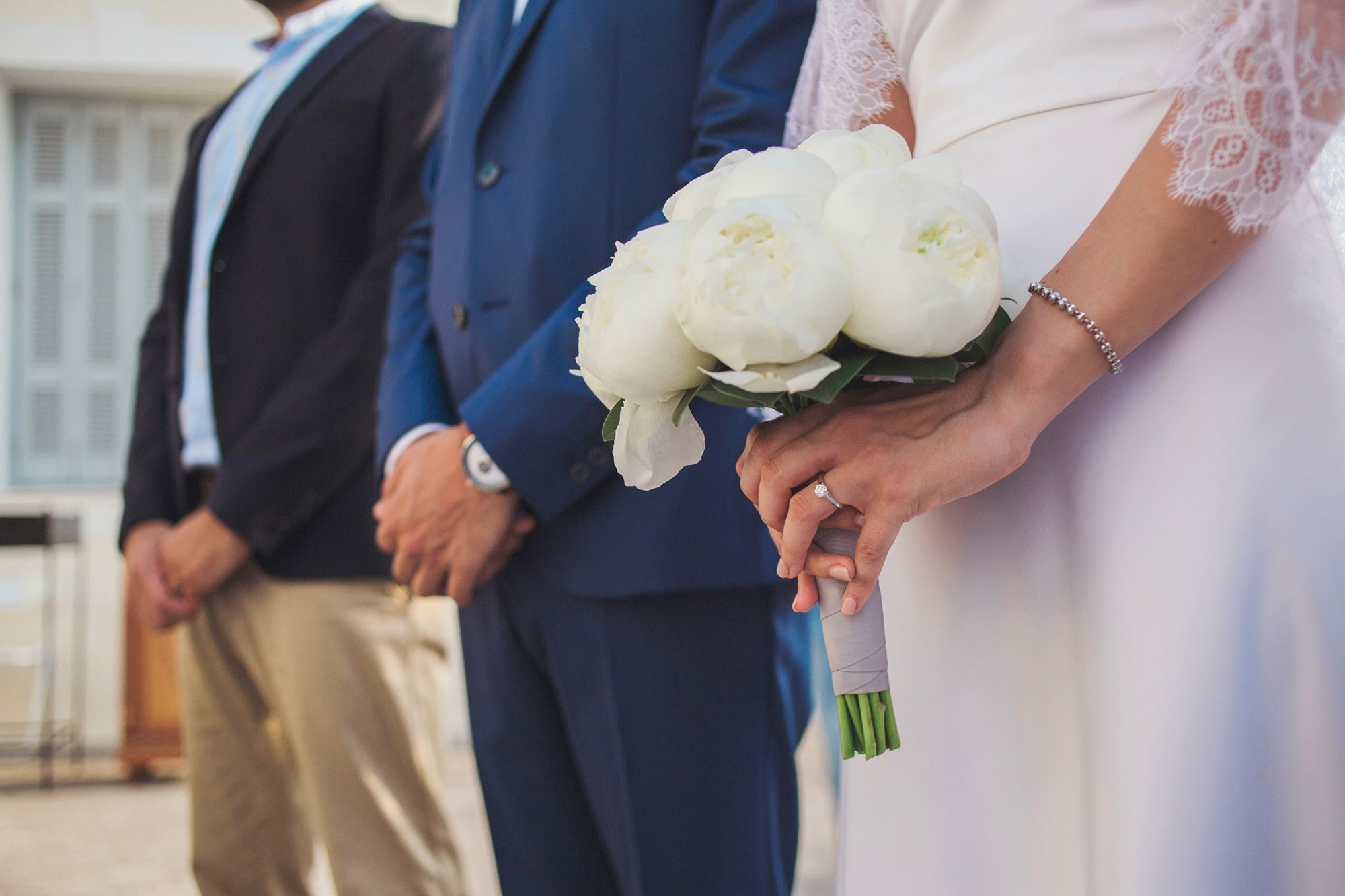 Traditional wedding in Spetses