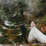 Winter wedding in Vrachati Korinthias