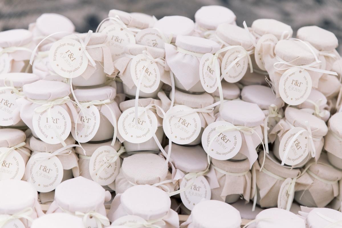 μπομπονιέρες για τους καλεσμένους του γάμου