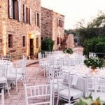 chic romantic wedding in Chios