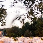 white island romantic wedding decoration