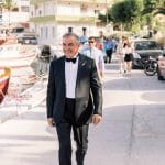 groom at a wedding in Chios