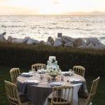 Island wedding decoration