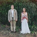 φωτογράφιση γαμπρού και νύφης