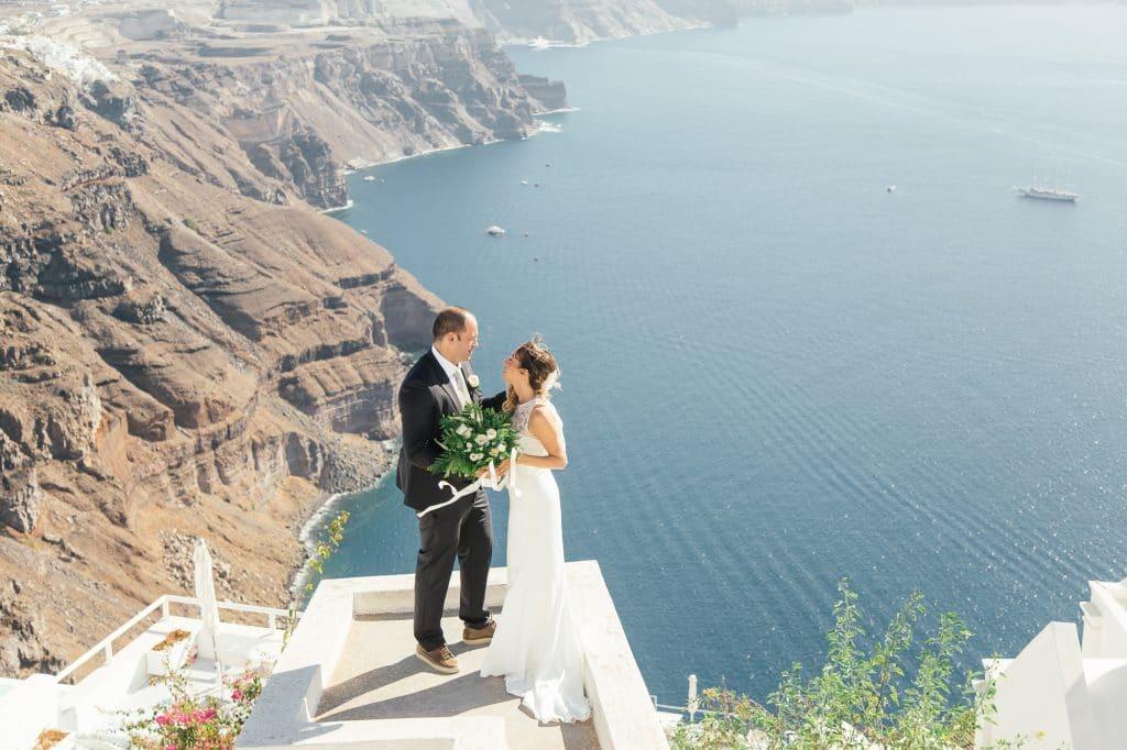 φωτογράφιση γάμου στη Σαντορίνη Olga Creative Photography