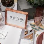 οργάνωση και διακόσμηση γάμου la fete