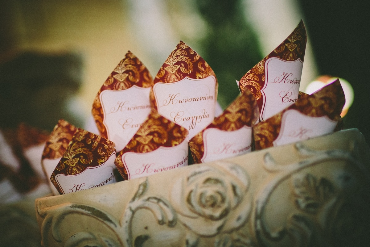 Paper wedding cones