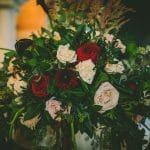 Wedding flowers for a fall wedding