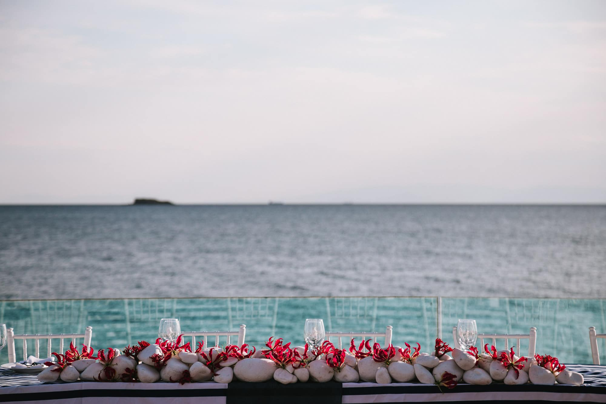 Nautical wedding decoration