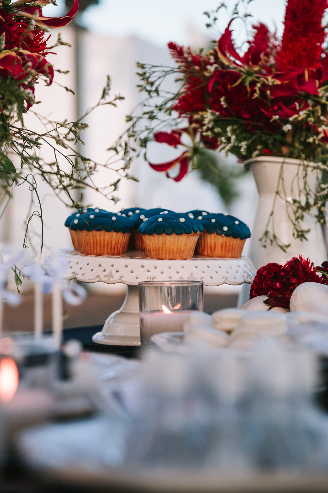 Nautical themed wedding desserts