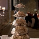 White wedding meringues