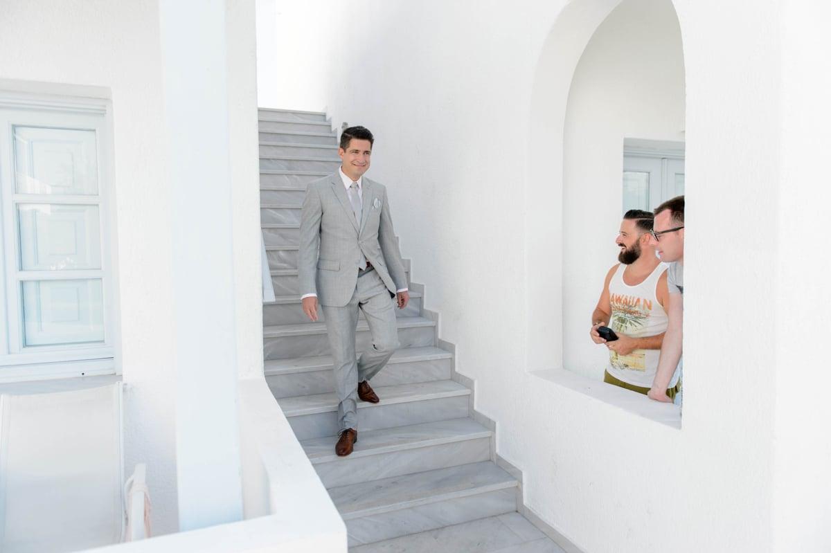 Same sex γάμος στη Σαντορίνη