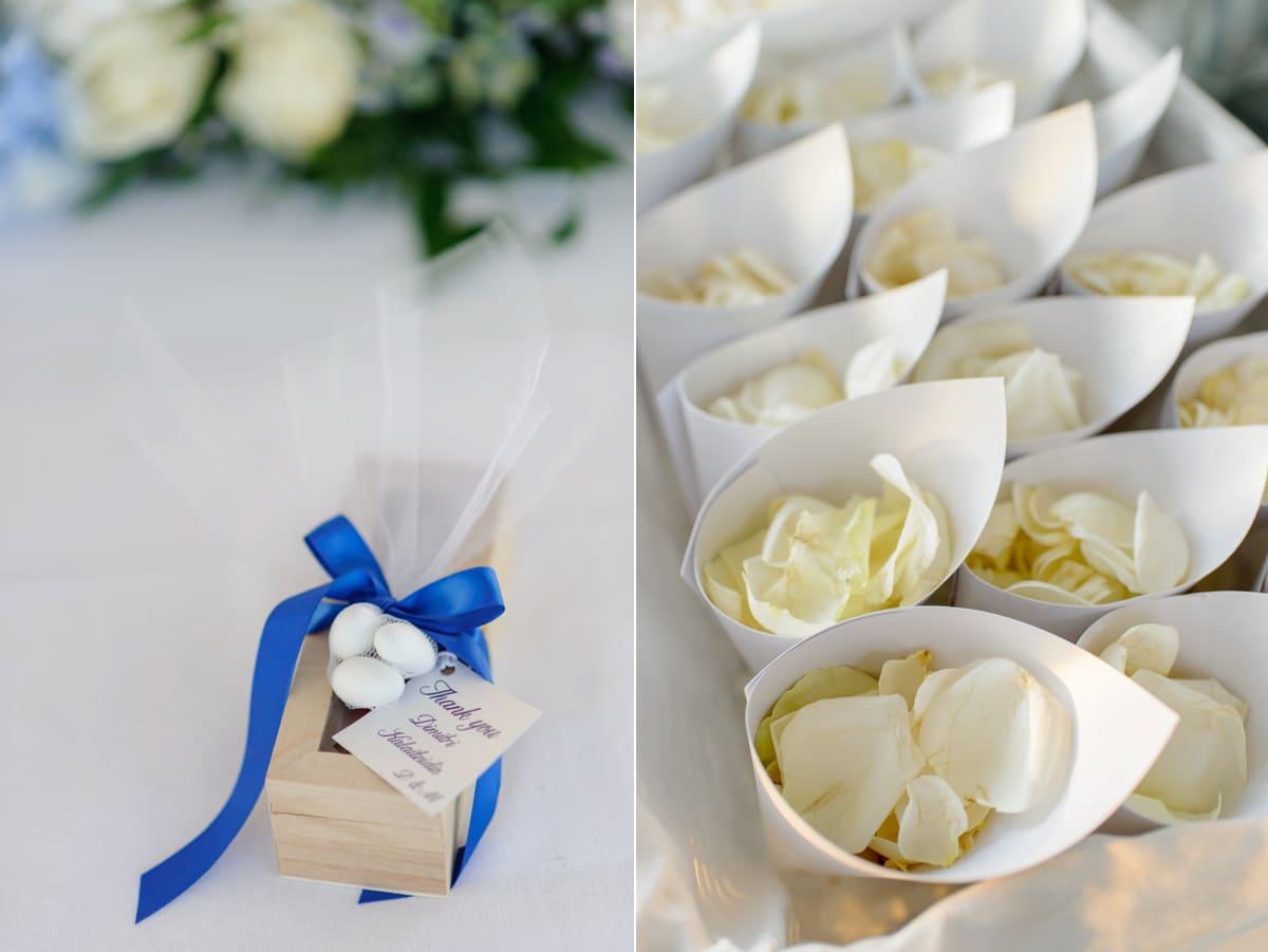 Ιδέες για γάμο με μπλε χρώμα