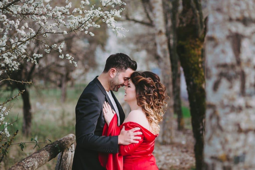 Φθινοπωρινή pre wedding φωτογράφιση στη Βυτίνα