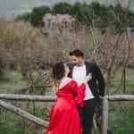 Fall pre wedding photoshoot in Vytina