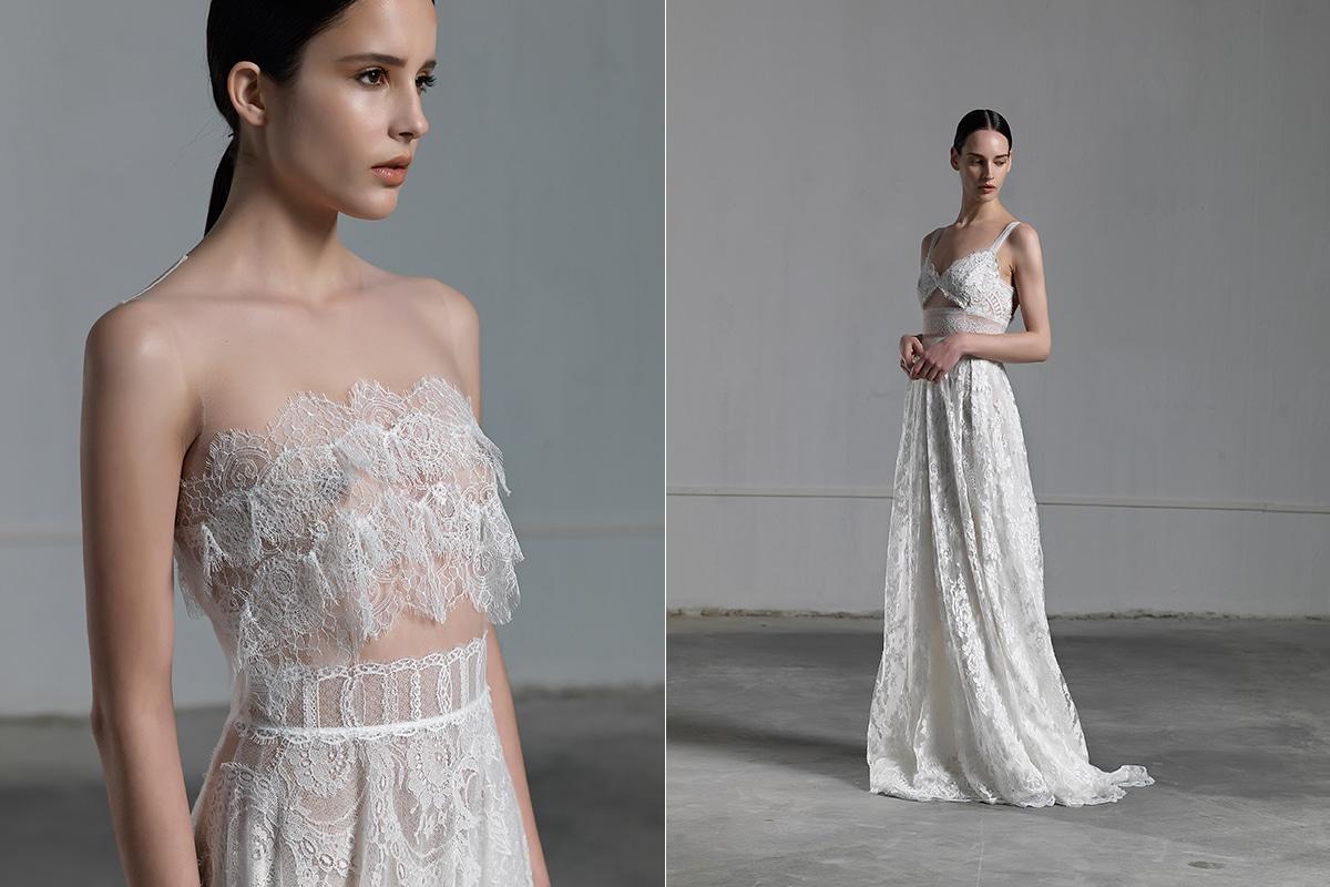 Wedding dresses by Vasia Tzotzopoulou