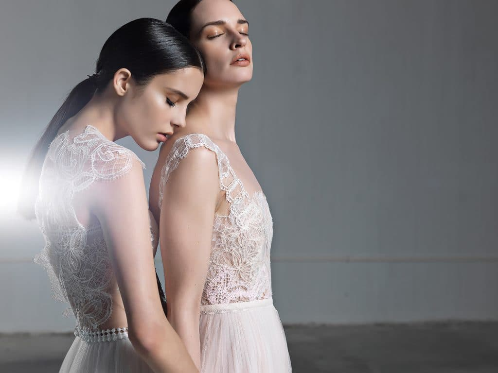 Wedding dresses by Vasia Tzotzopoulou