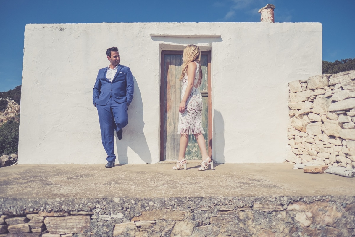 Summer wedding in Sifnos