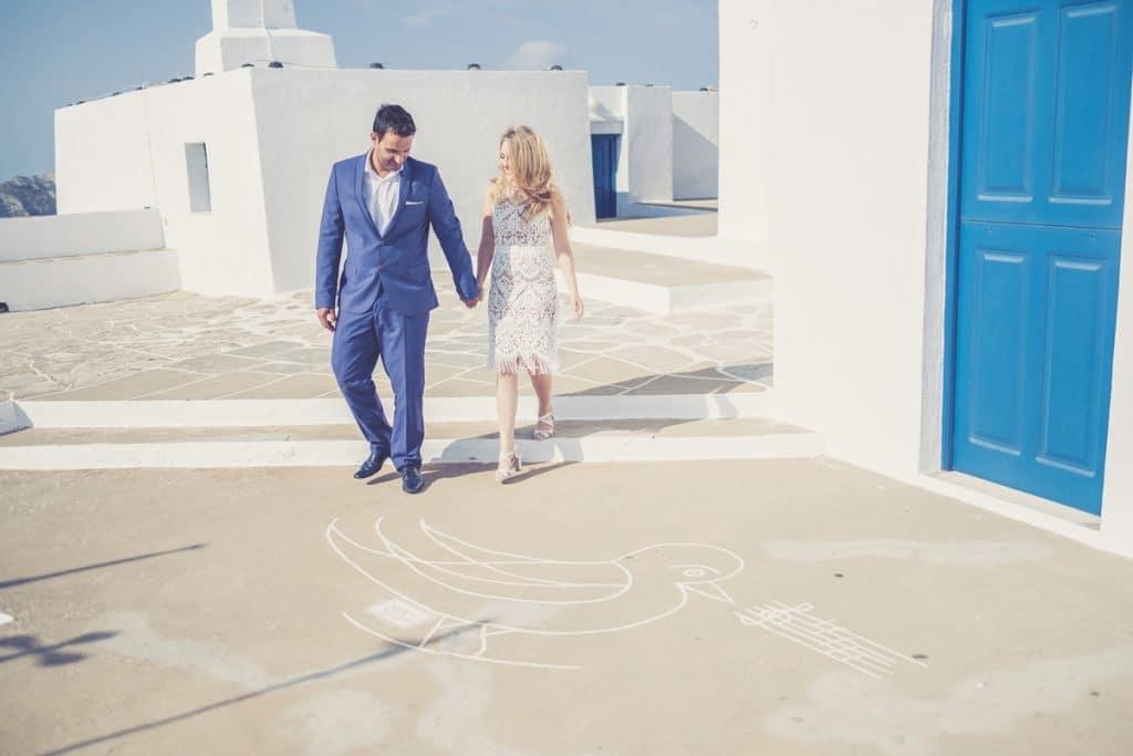 Καλοκαιρινός γάμος στη Σίφνο