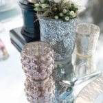 Ideas for a glam wedding with silver details
