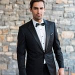 Black groom's suit Giannetos