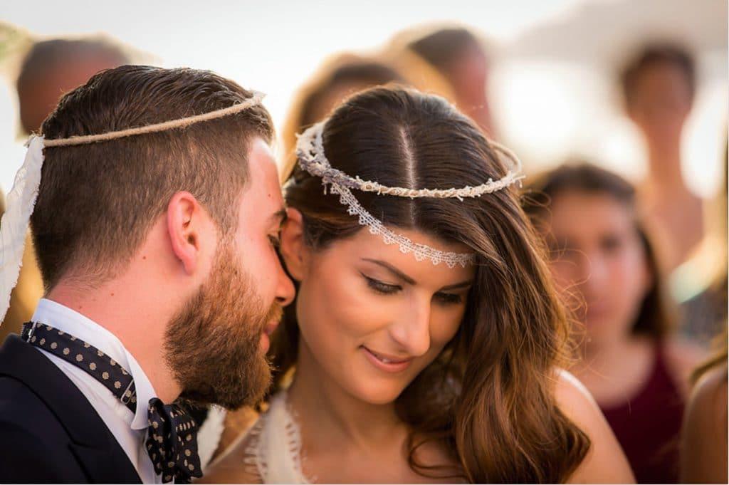 Summer wedding video in Kea