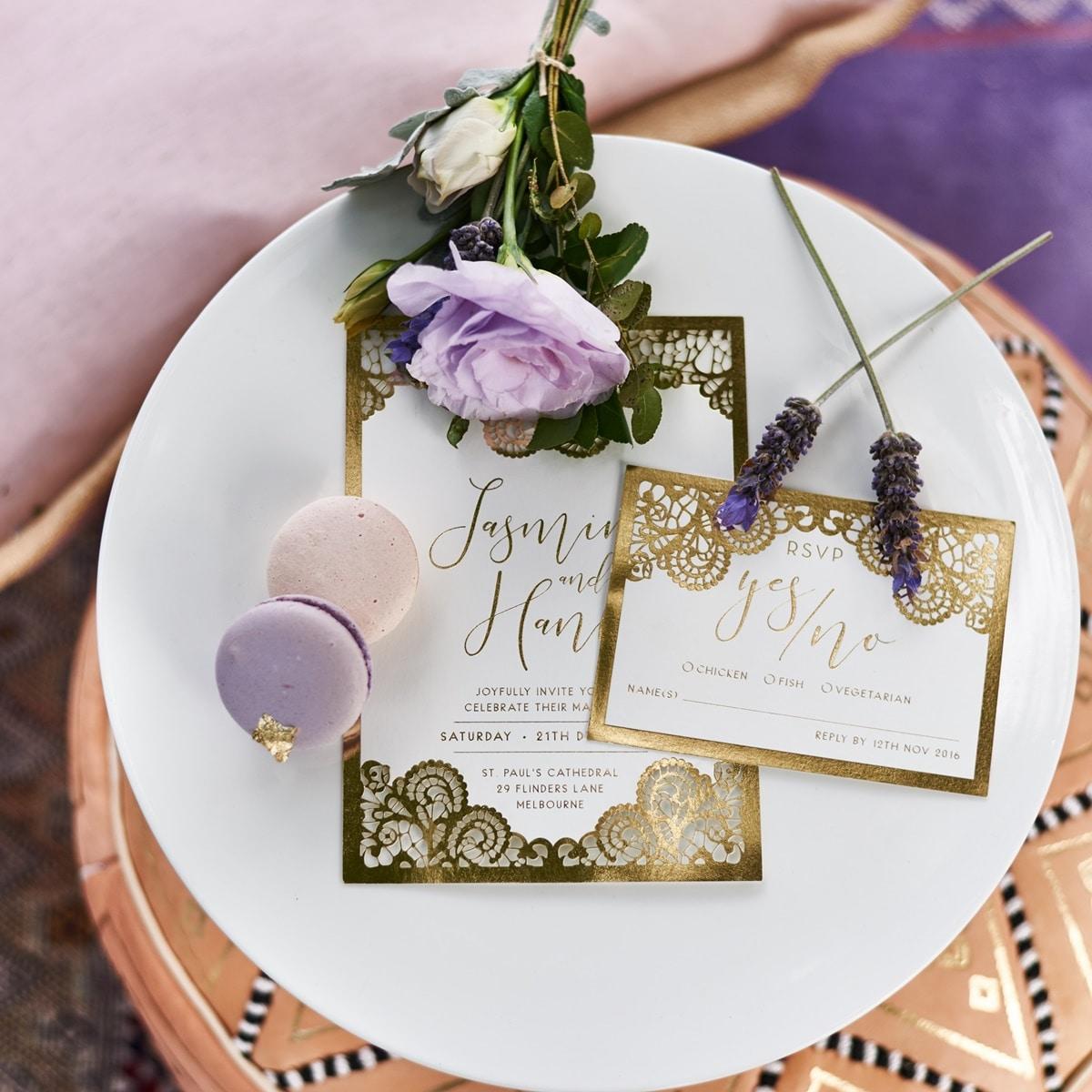 Ιδέες για boho γάμο με λεβάντα