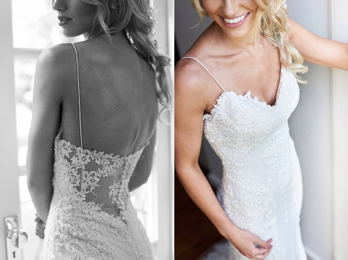 Laced open back wedding dress Maggie Sottero