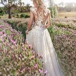 Ethereal boho wedding dress Nicole Spose