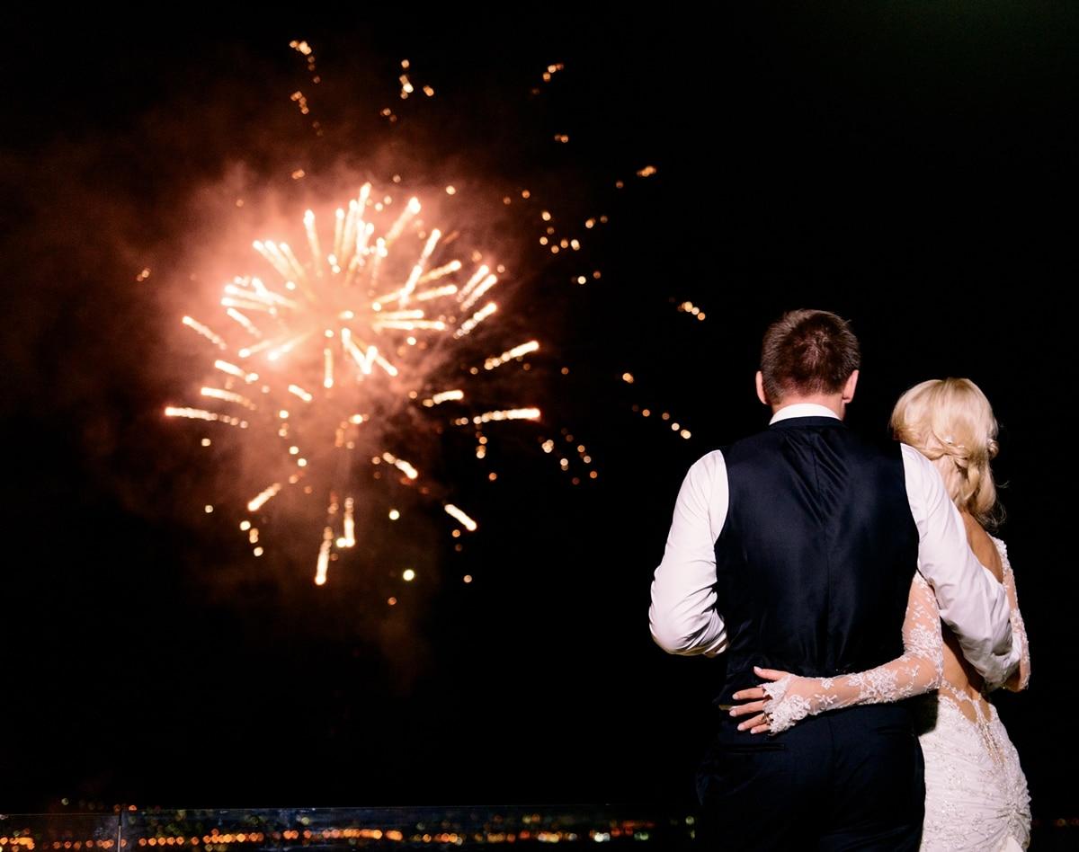Ιδέες για πυροτεχνήματα γάμου