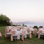 Wedding decoration ideas in pink colors