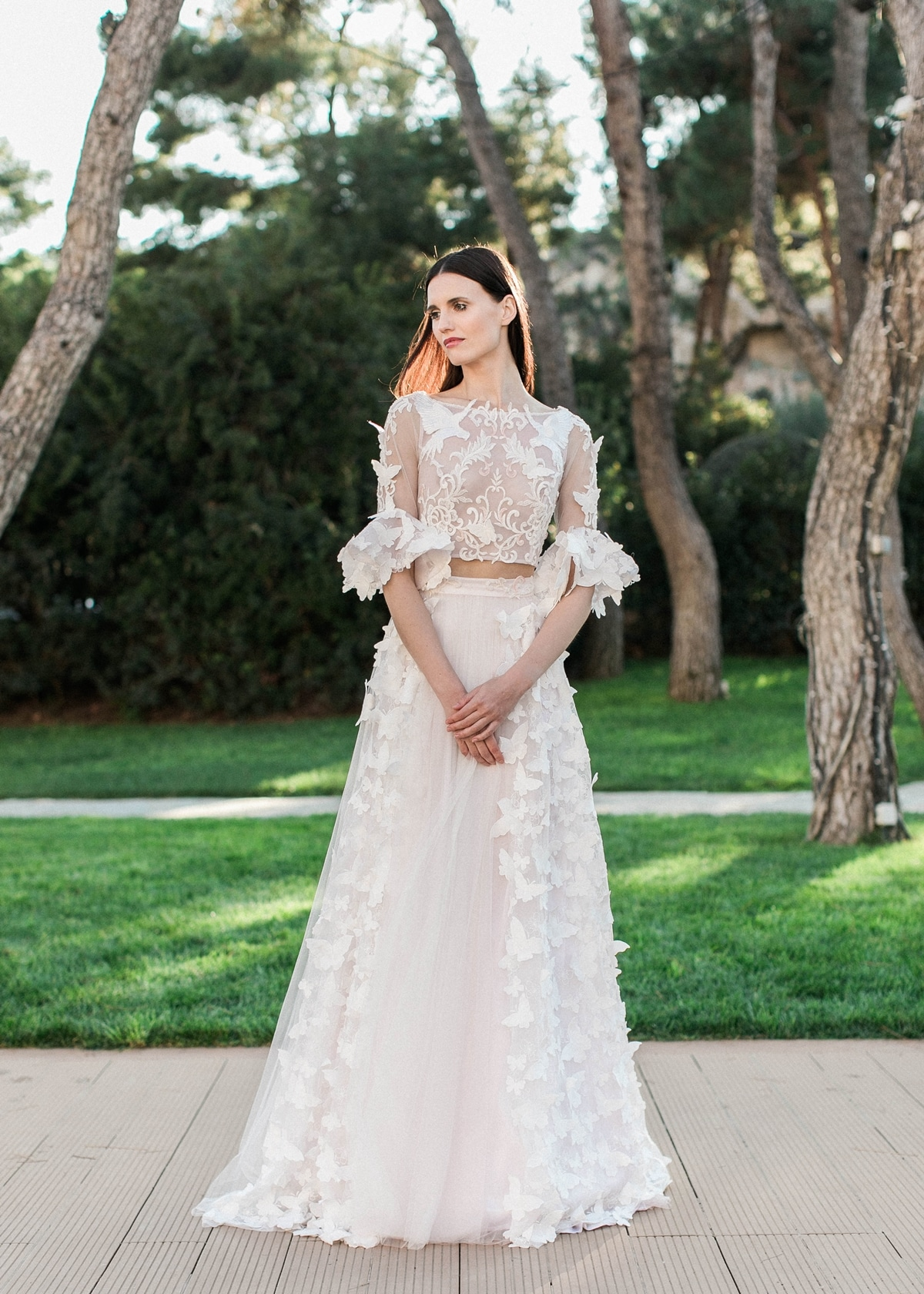 Ethereal Wedding Dress By Made Bride Antonea